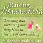 A wonderful new site for homemaking and giveaways
