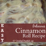 Let's celebrate with cinnamon rolls!
