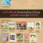 The End is Near!  Don't Miss The Ultimate Homemaking Bundle (and all the Freebies)!