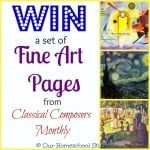 Art Appreciation Made Easy a Review and Giveaway for Classical Composers Monthly
