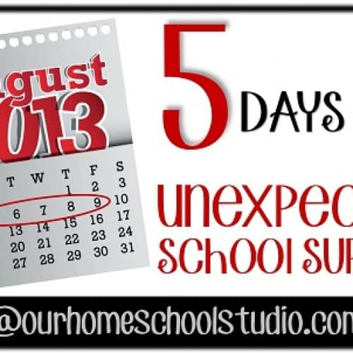 Day One: Unexpected School Supplies Paint sample cards |