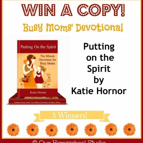 Hope for the Busy Mom ~ Putting on the Spirit by Katie Hornor ...