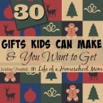 Gifts from Kids to DIY
