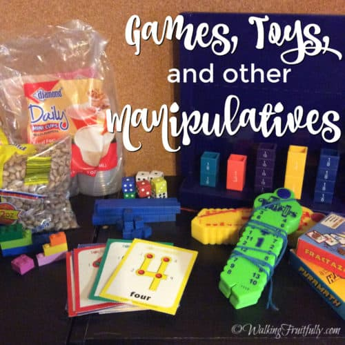 Toys and Manipulatives for Math Learning