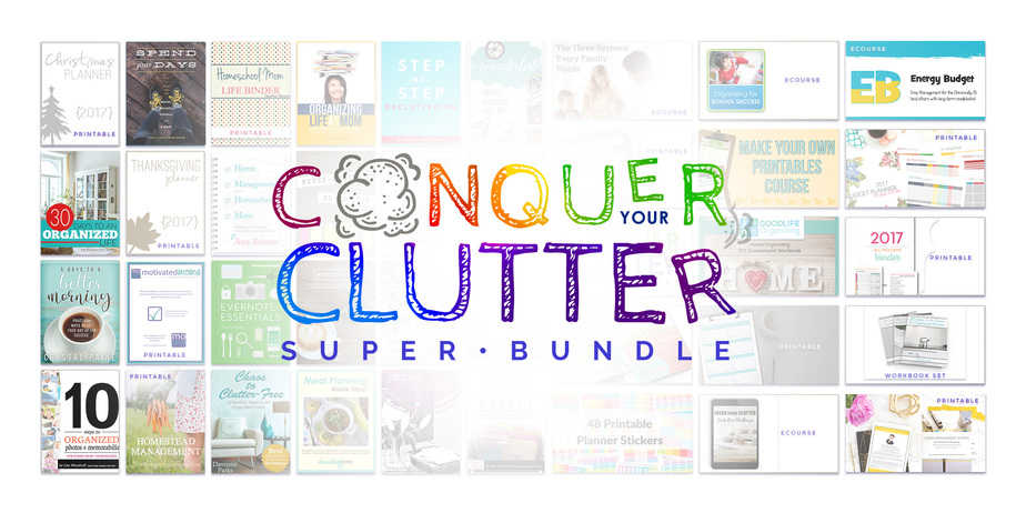Conquer Clutter Bundle