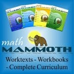 Math Mammoth Complete Pre-Algebra Curriculum ~ Homeschool Crew Review