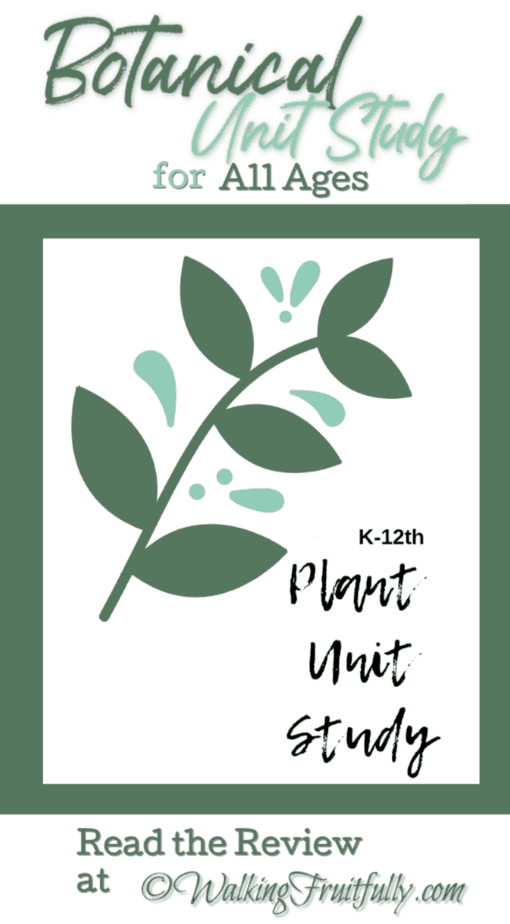 Review of Plants Unit Study for All Ages