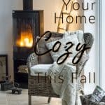 Making Your Home Cozy This Fall