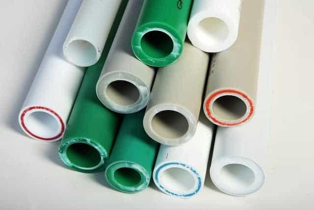 plastic pipe preferred